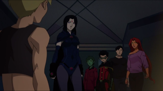 Teen Titans-Concern For A Teammate!
