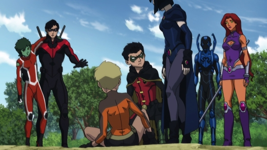 Teen Titans-Training Mishap!