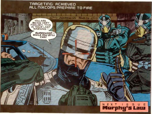 RoboCop #1-Battle Of The Bots!