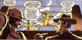 RoboCop #1-Come Quietly, Dek!