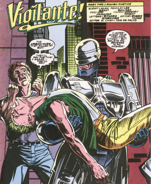 RoboCop #10-Opening On Tragedy!