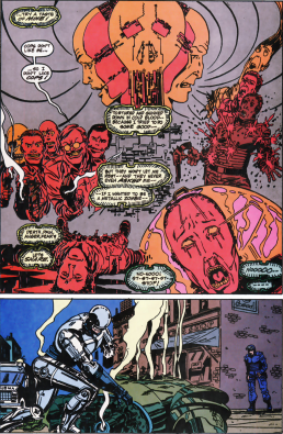 RoboCop #11-Down Goes The Robo-Foe!