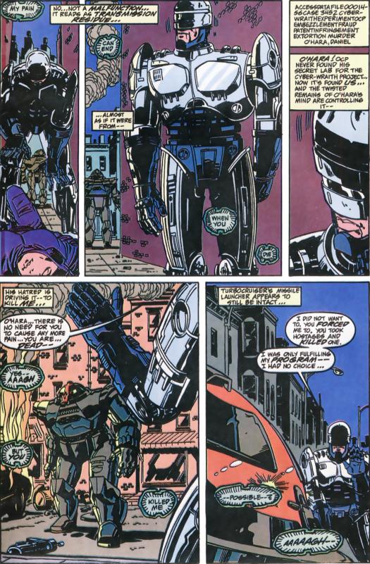 RoboCop #11-Realization!