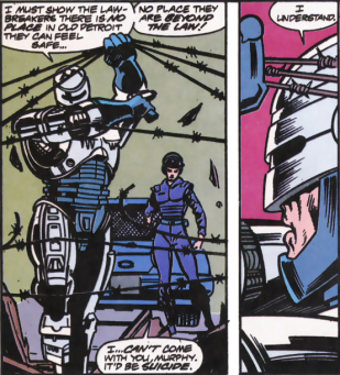 RoboCop #12-I'm Going In!