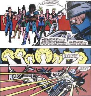 RoboCop #12-Under Attack!