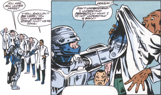 RoboCop #13-You're All In Trouble!
