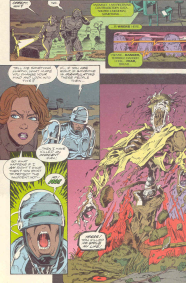 RoboCop #16-A Haunted House For This Cyborg!