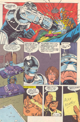 RoboCop #16-Broadcast's End & A Devious Sign Of Things To Come!