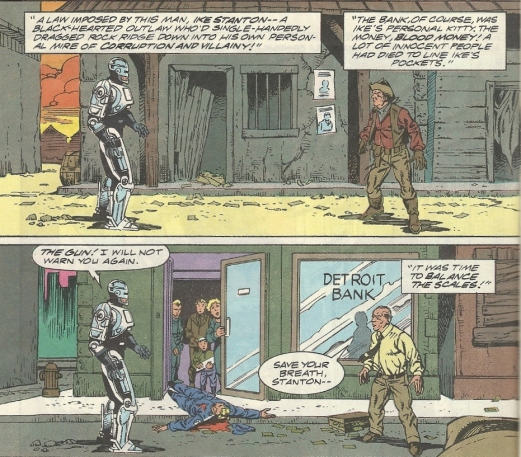 RoboCop #16-Odd Showdown!