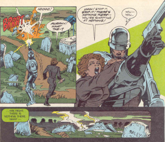 RoboCop #16-There's Nothing There, Murphy!