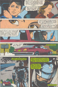RoboCop #17-A Family That Can Never Be Together Again!