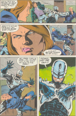 RoboCop #18-An Uncaring Partner!