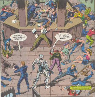 RoboCop #18-Melee At Metro West!