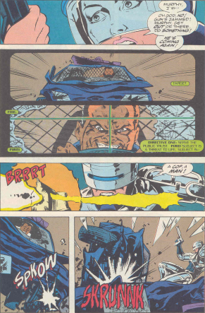 RoboCop #18-Shoot To Wound, Not Kill!