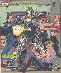 RoboCop #19-Itching To Shoot!