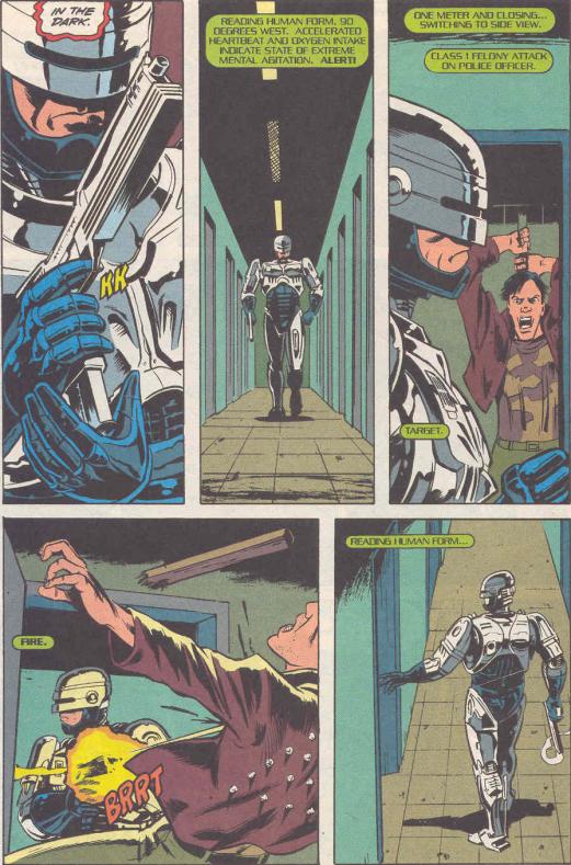 RoboCop #19-Murderous Mayhem!