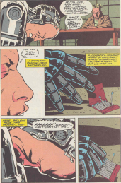 RoboCop #19-Struggling, But Onto A Scent!