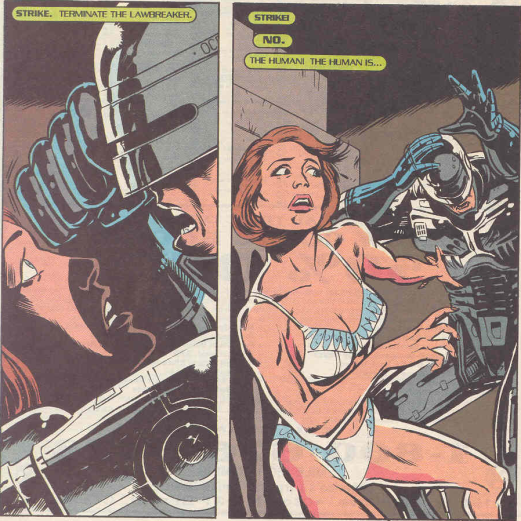 RoboCop #19-This Isn't Love!