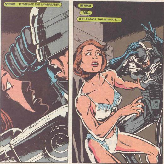 RoboCop #19-This Isn't Love!