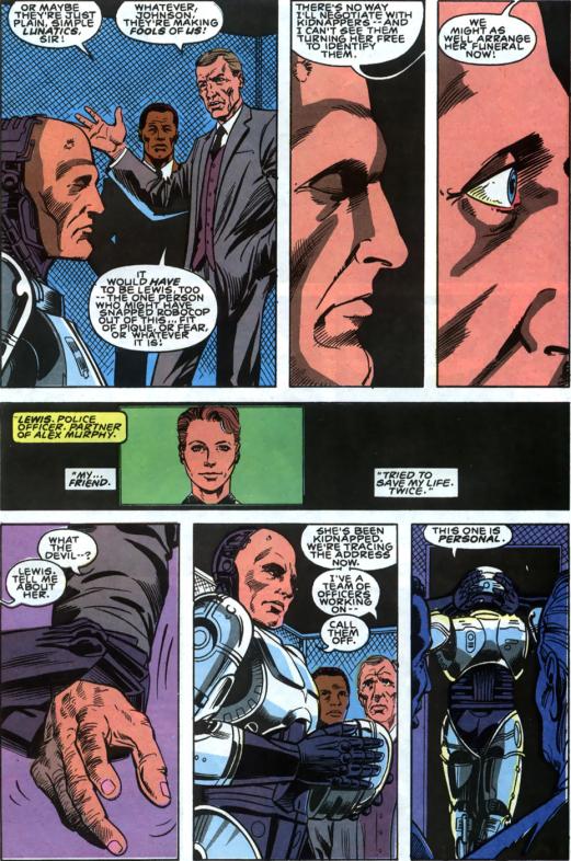 RoboCop #2-Gotta Save My Partner!