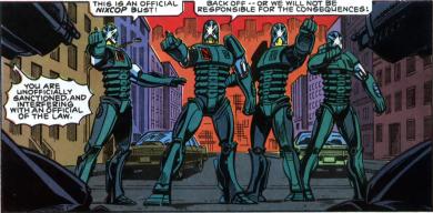 RoboCop #2-Nixcops, Attack!