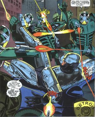 RoboCop #2-Robo-Shootout!