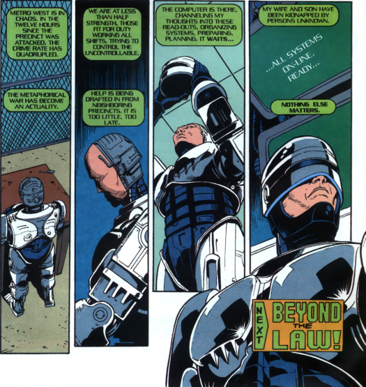 RoboCop #20-I'm At Peace With Both Sides!