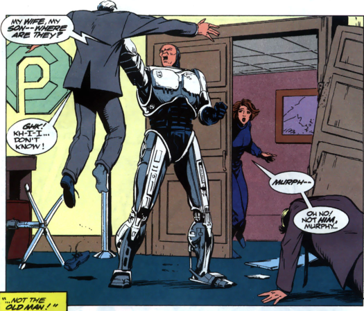 RoboCop #20-Where's My Family!