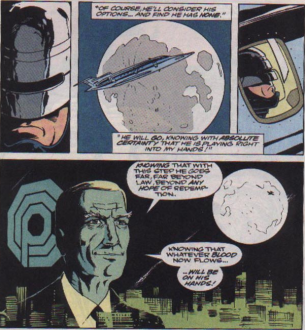 RoboCop #21-Off Towards A Rescue!