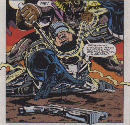 RoboCop #22-At The Mercy Of Aza!