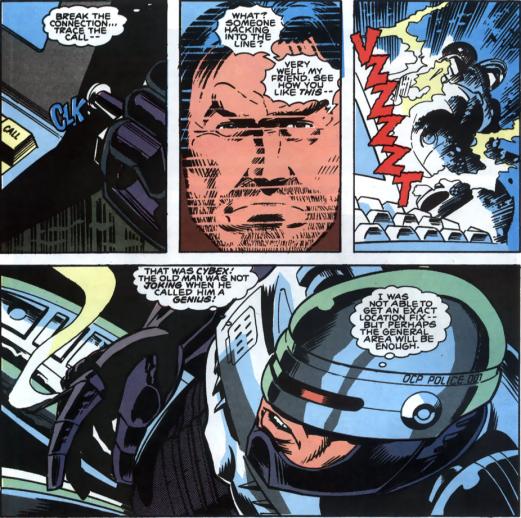 RoboCop #3-Shocking Termination!