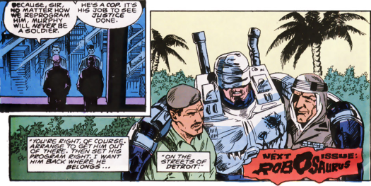 RoboCop #6-Come On Home, Murphy!