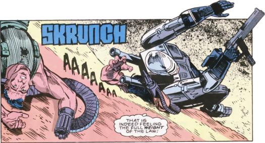 RoboCop #6-Triumphant Sand Combat!