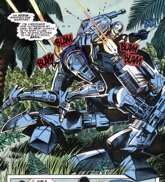 RoboCop #6-Unexpected Mech-Battle!