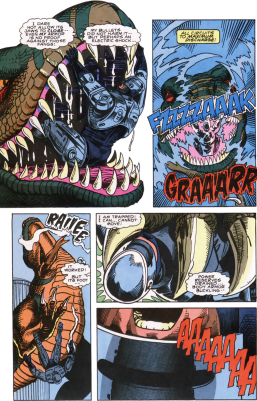 RoboCop #7-A Dino-Struggle!