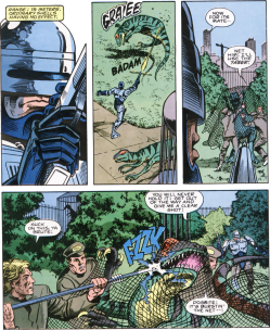 RoboCop #7-Dino Hunting!