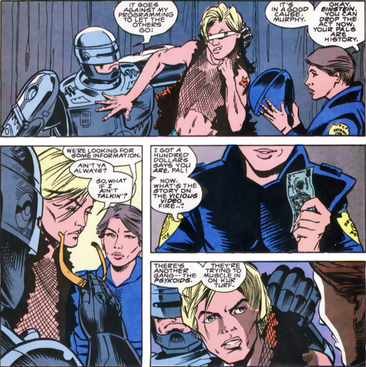 RoboCop #8-An Innocent With Information!