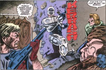 RoboCop #9-Oh, Yeah!