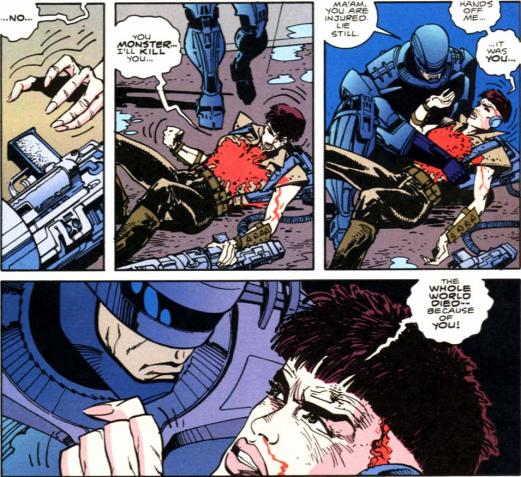 RoboCop vs. Terminator #1-Helping My Slayer!
