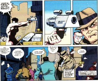 RoboCop vs. Terminator #1-I Have A Gun!