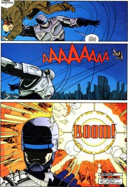RoboCop vs. Terminator #1-Just Go BOOM!
