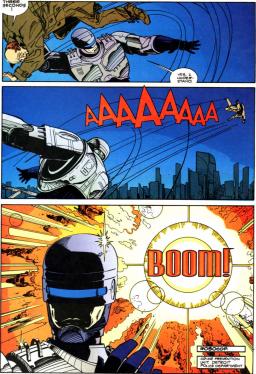 RoboCop vs. Terminator #1-Just Go BOOM!