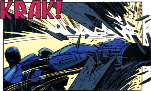 RoboCop vs. Terminator #1-Knock, Knock!