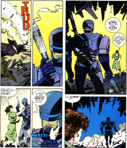 RoboCop vs. Terminator #1-No Thank You, Ma'am!