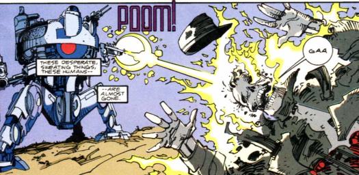 RoboCop vs. Terminator #1-Skynet's In Control!