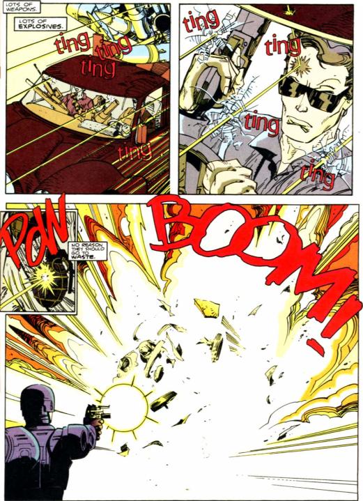 RoboCop vs. Terminator #2-KABOOM!