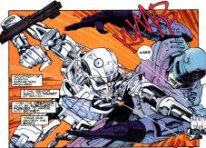 RoboCop vs. Terminator #2-Round 1 Begins!