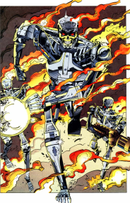 RoboCop vs. Terminator #2-Terminators On The Attack!