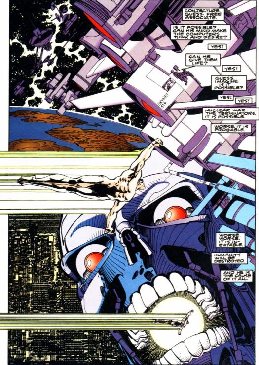 RoboCop vs. Terminator #2-Terror Overhead!