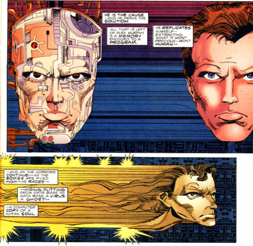 RoboCop vs. Terminator #3-A Human Soul Still Resides Within The Machine!